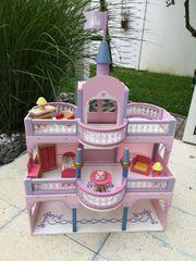 Puppenhaus Holzpuppenhaus Puppenschloss Spielzeug mit