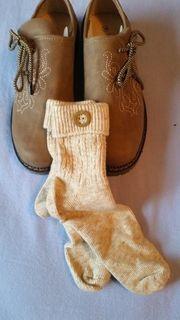 Damen - Trachtenschuhe und Socken Gr