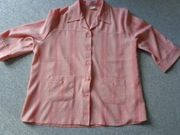 Bluse 3 4-Arm-Bluse Blusenjacke Leinenbluse