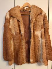 Echtpelz Mantel Fuchs Größe 38