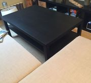 IKEA Couchtisch schwarzbraun 15 EUR