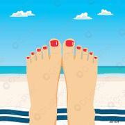 stark duftende Füße