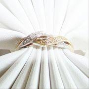 Ring Gold 333er Diamant Goldringe