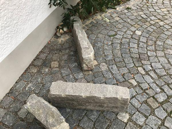 Granitbordsteine Granitsteine Gesamtlänge Ca 4 M In München