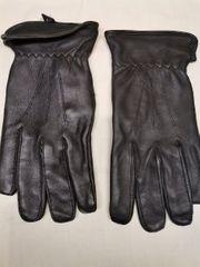 Herren Synthetik Leder Handschuhe XL