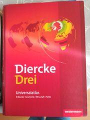 Diercke Drei Universal atlas verschied