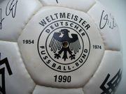 Fussball der WM 1990 mit