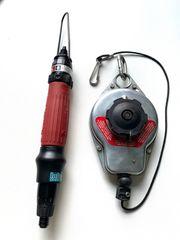 Druckluftschrauber mit Federzug