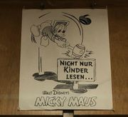 Micky Maus Orig Plakat 60er