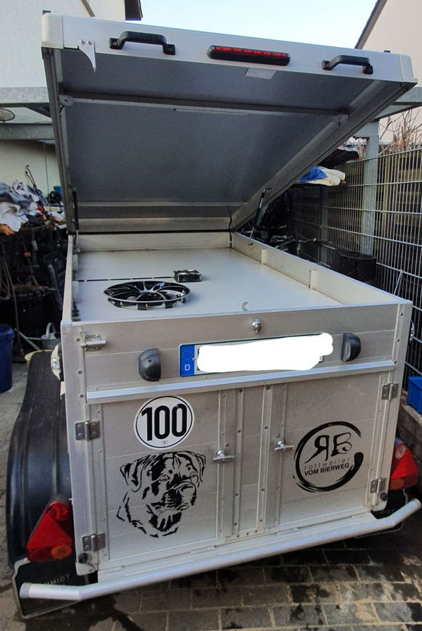 Schmidt Hundetransporthänger Typ SH4MT für
