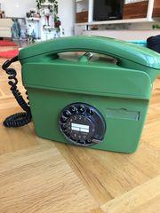Wandtelefon Wählscheibentelefon Vintage Telefon
