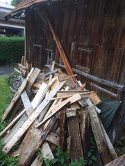 Brennholz Abfallholz