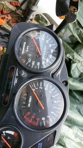 Kawasaki über 500 ccm - Kawasaki gpz 500 Cafe racer