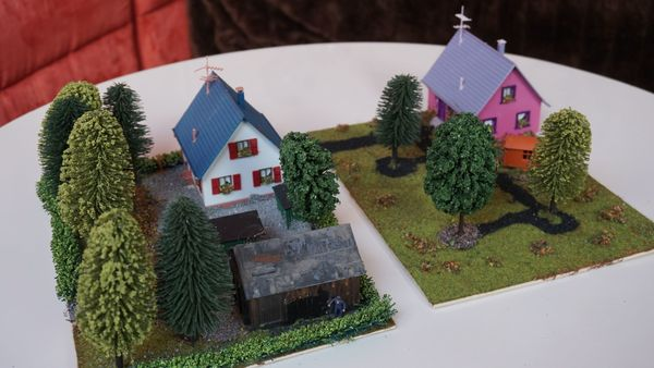 2 Modellbauhäuser
