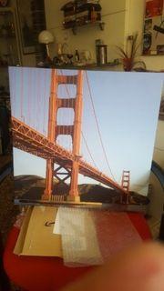 Golden Gate auf Keilrahmen