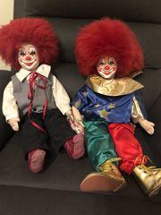 Clown Puppen