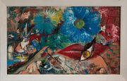 Surreales Gemälde v AS Blaugelbe