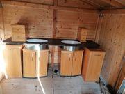 Bad Möbel aus Echtholz