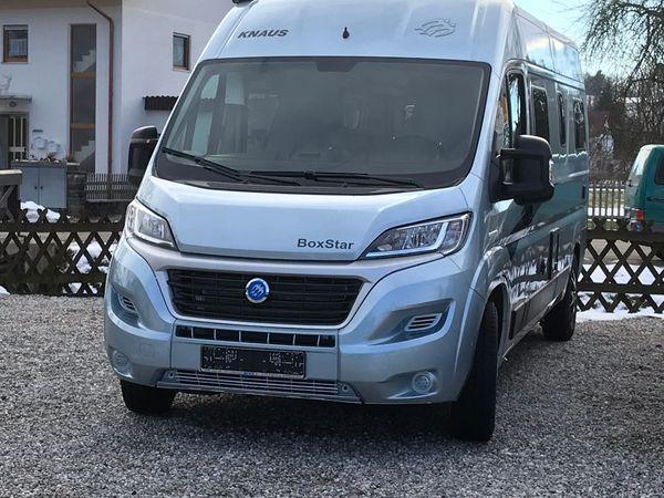 Wohnmobil Kastenwagen mieten KNAUS Boxstar