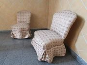 2 antike Sessel