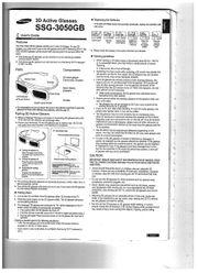 3D Brillen Samsung SSG-3050 GB