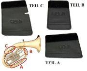 3-teiliger Handschutz für Tenorhorn