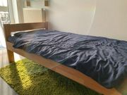 Bett aus Massivholz 100x200 inkl