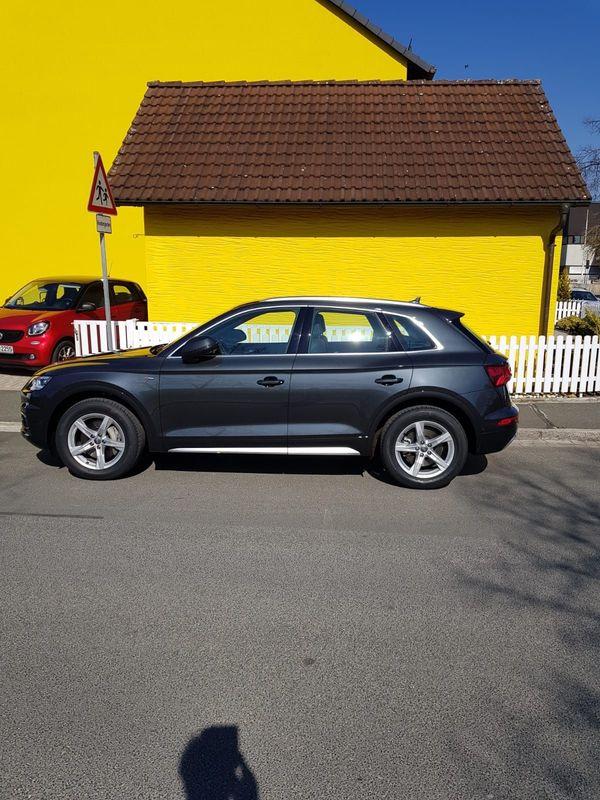 4 Original-Räder neu Audi Q
