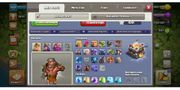 Clash of clans accounts rh11