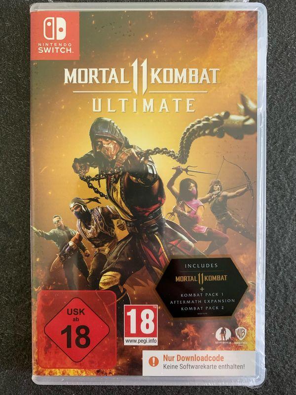 Mortal Kombat 11 Ultimate Nintendo