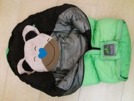 Kinderwagen - Odenwälder Baby Nest FuSSACK Grün