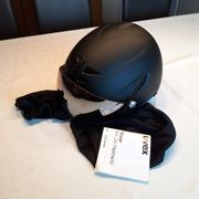 Einmal getragene Ski Helm zu