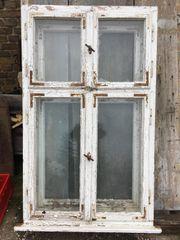 Doppelkasten Fenste r Bauwagenfenster Alte