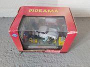 Diorama Porsche Werkstatt