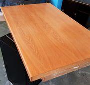 Tischplatte Eiche massiv furniert Arbeitsplatte