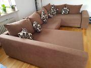 sehr gemütliche Couchgarnitur