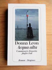 Donna Leon Acqua alta - Commissario