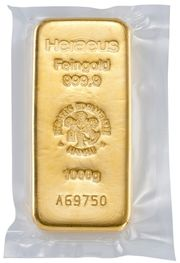 Goldbarren Heraeus 1KG