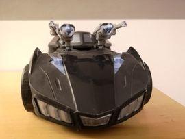 Spielzeug: Lego, Playmobil - Batman Auto mit 2 Kanonen