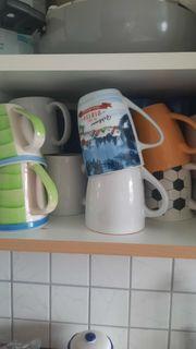 Neuwertige Tassen