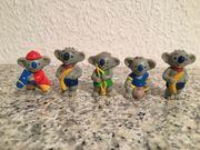 5 Stück Sammelfiguren Koalabären Fanartikel