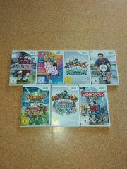 Diverse Wii Spiele