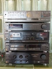 Sony Heimanlage Defekt Doppelcasette CD