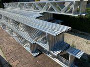 6 X Gitterträger Stahl 320 -
