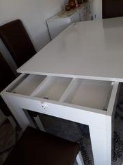 Esszimmertisch mit 6 Stühlen