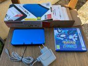 NINTENDO 3DS XL blau-schwarze Konsole
