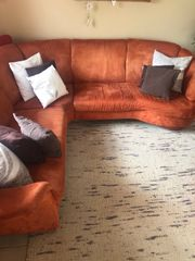 Couch mit kostenlosen Couchstuhl