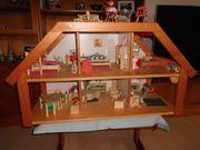 Selecta Puppenhaus mit Möbeln weiterem