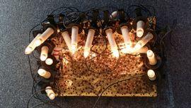 Christbaumbeleuchtung 16 Kerzen elektrisch