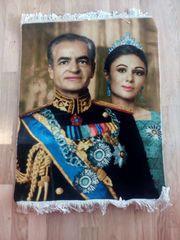 Wandteppich Tapriz Iran Shah von